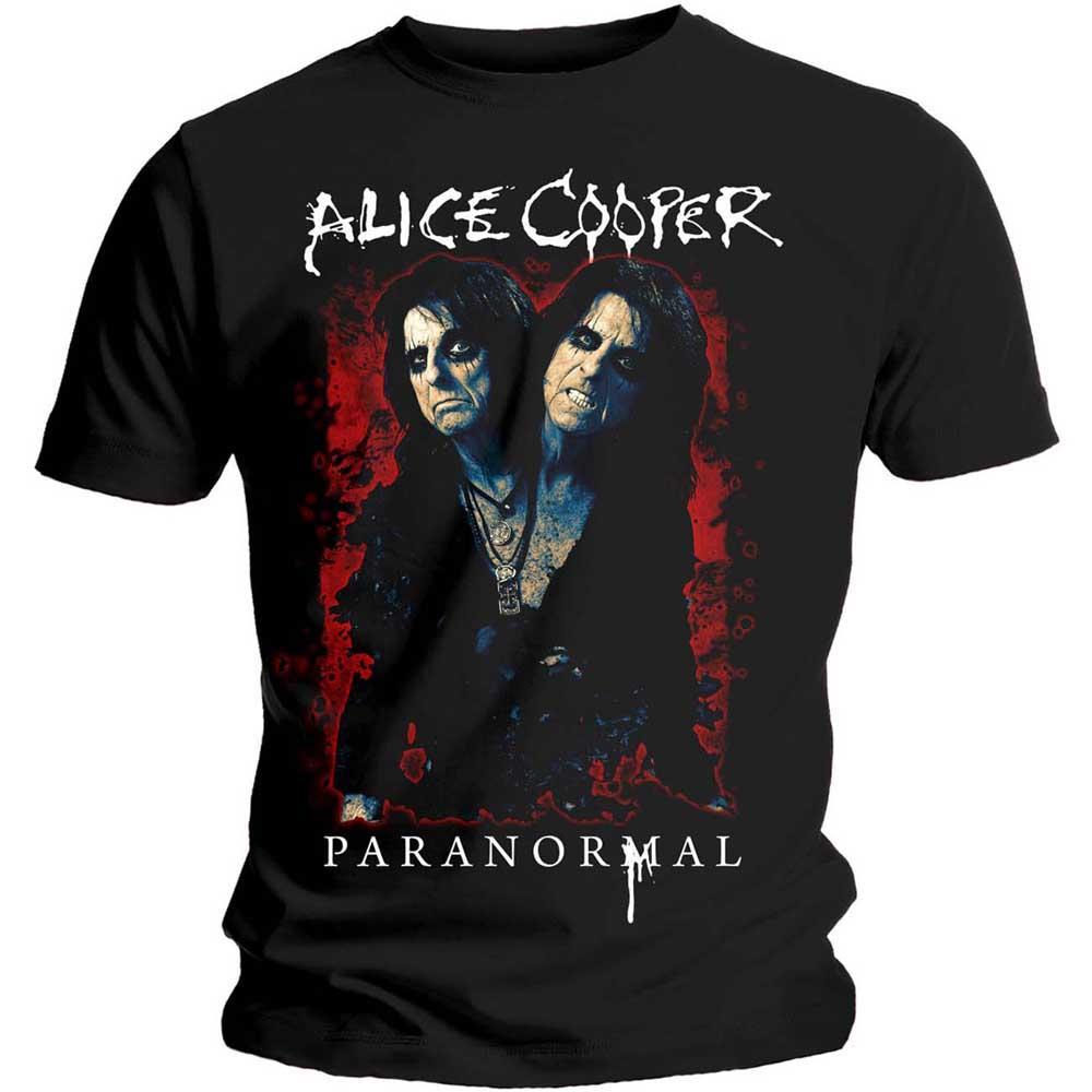 Camiseta Alice Cooper Paranormal talla M