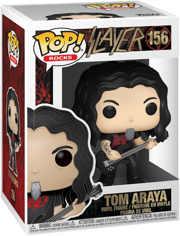 Funko Funko Slayer Figura Tom Araya 9 cm