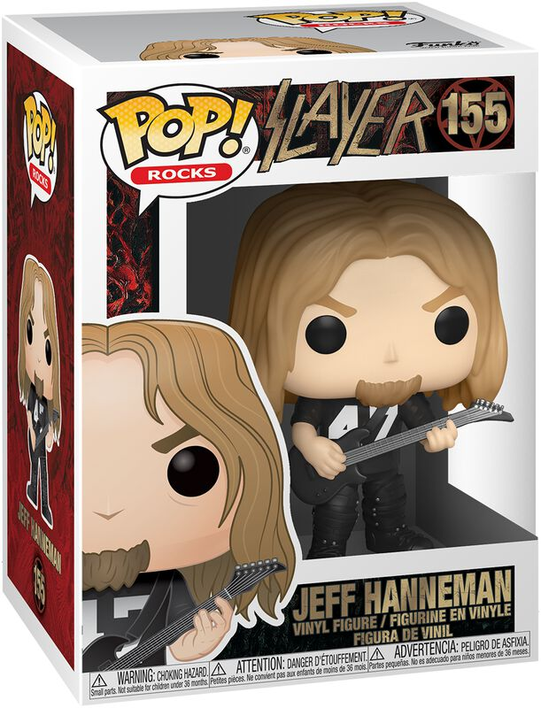 Funko Funko Slayer  Figura Jeff Hanneman 9 cm