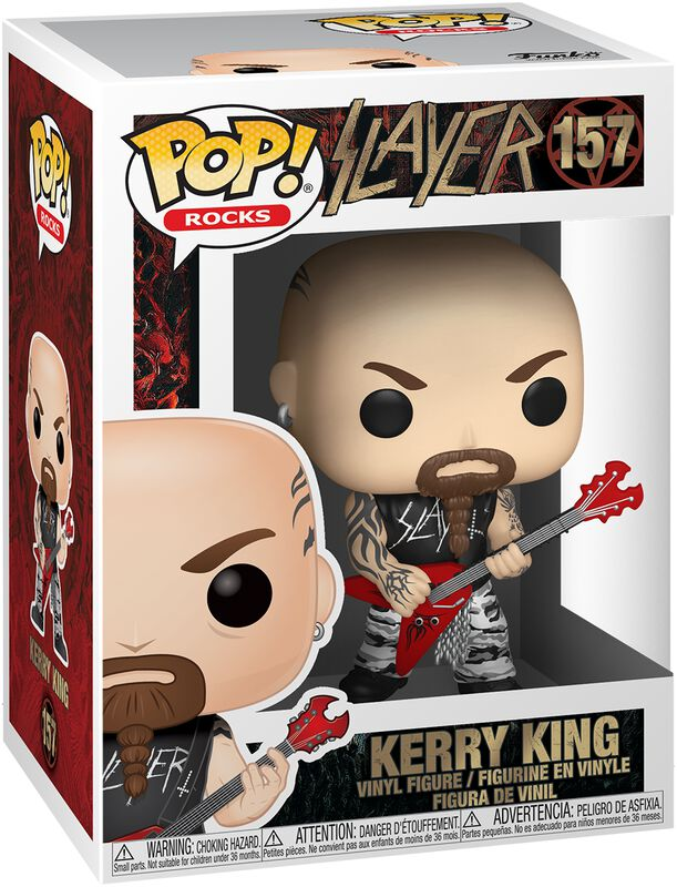 Funko Funko Slayer Figura Kerry King 9 cm