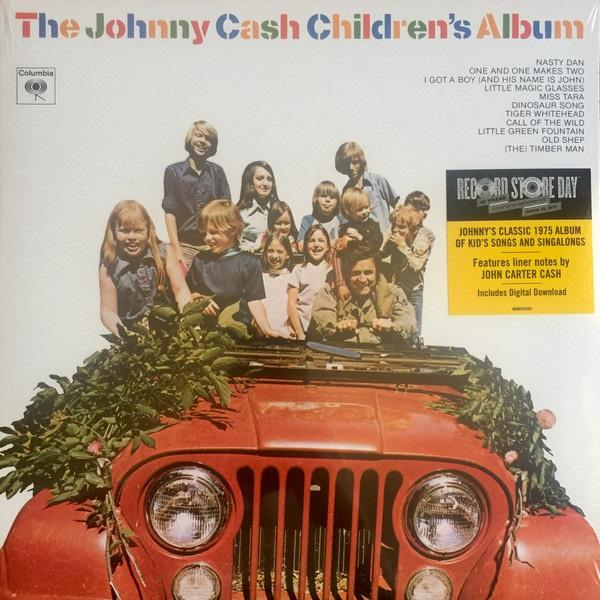"Sony Music LP Johnny Cash ""The Johnny Cash Children's Album"""