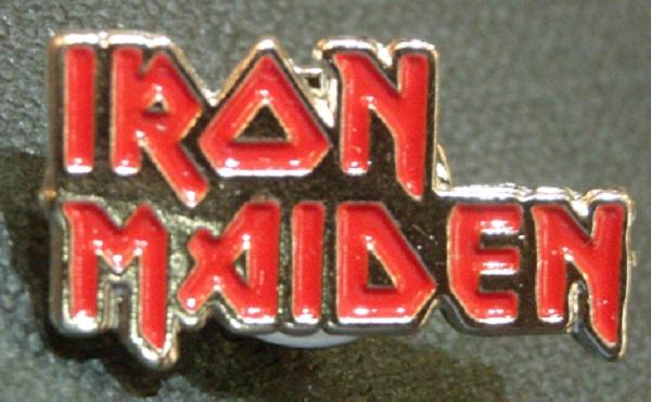 Pin Iron Maiden Logo