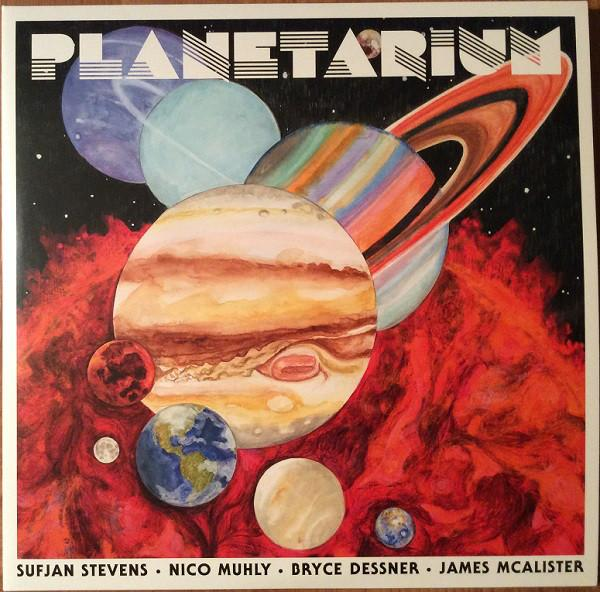 "4AD LP Sufjan Stevens / Nico Muhly / Bryce Dessner / James McAlister ""Planetarium"""