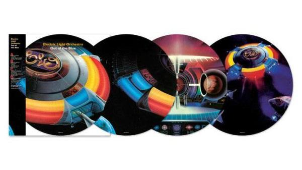 """Sony Music PICTURE DISC Electric Light Orchestra """"Out of the blue"""" 2LP"""