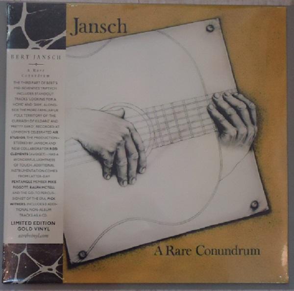 """LP BERT JANSCH """"A RARE CONUNDRUM"""" GOLD VINYL"""