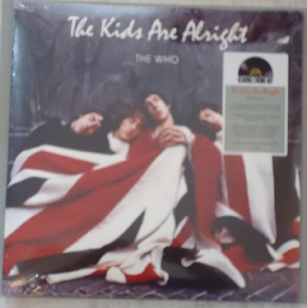 """2LP THE WHO """"THE KIDS ARE ALLRIGHT"""" RED & BLUE VINYL"""