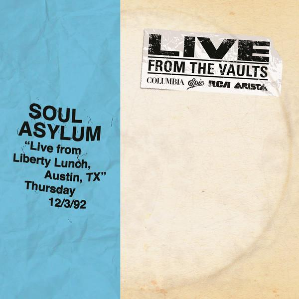 """Sony Music 2LP SOUL ASYLUM """"LIVE FROM LIBERTY LUNCH, TX"""""""