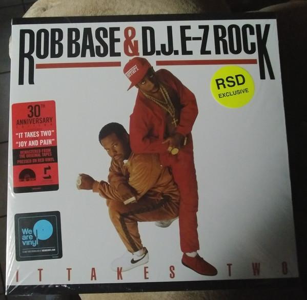 """Sony Music LP ROB BASE & D.J. E-Z ROCK """"IT TAKES TWO"""" 30TH ANNIVERSARY"""
