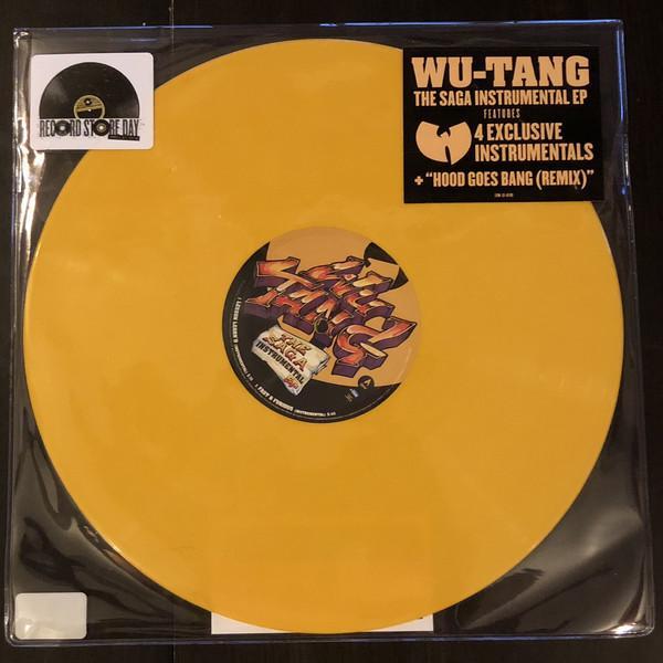 """EP 12'' WU-TANG CLAN """"THE SAGA INSTRUMENTAL EP"""""""
