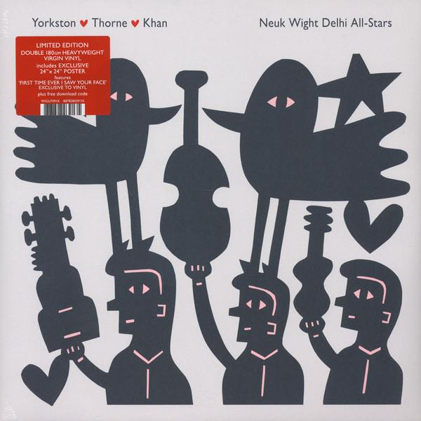 "2LP YORKSTON, THORNE,KHAN ""NEUK WIGHT DELHI ALL-STARS"""