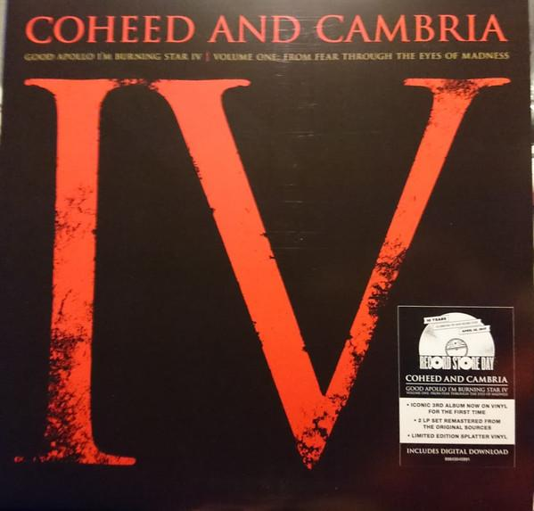 """Sony Music LP COHEED AND CAMBRIA """"GOOD APOLLO I'M BURNING STAR IV"""""""