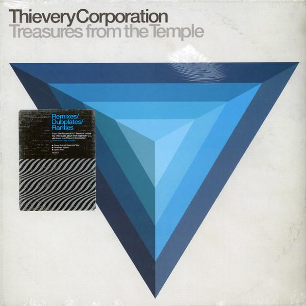 """LP THIEVERY CORPORATION """"Treasures From The Temple"""" 2LP"""