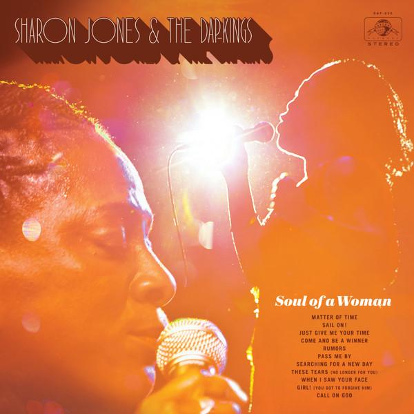 "LP SHARON JONES & THE DAP-KINGS ""Soul of a woman"""