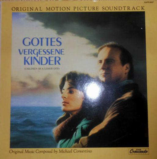 "LP MICHAEL CONVERTINO ""Gottes Vergessene Kinder (Children Of A Lesser God - Original Motion Picture Soundtrack) """