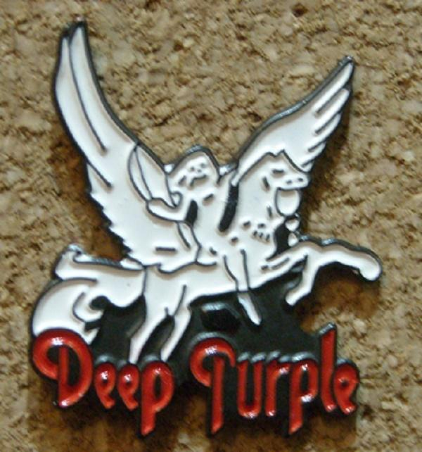 Pin Deep Purple