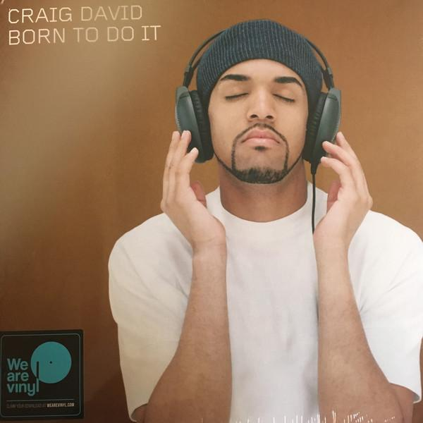 Sony Music LP CRAIG DAVID Born To Do It 2LP