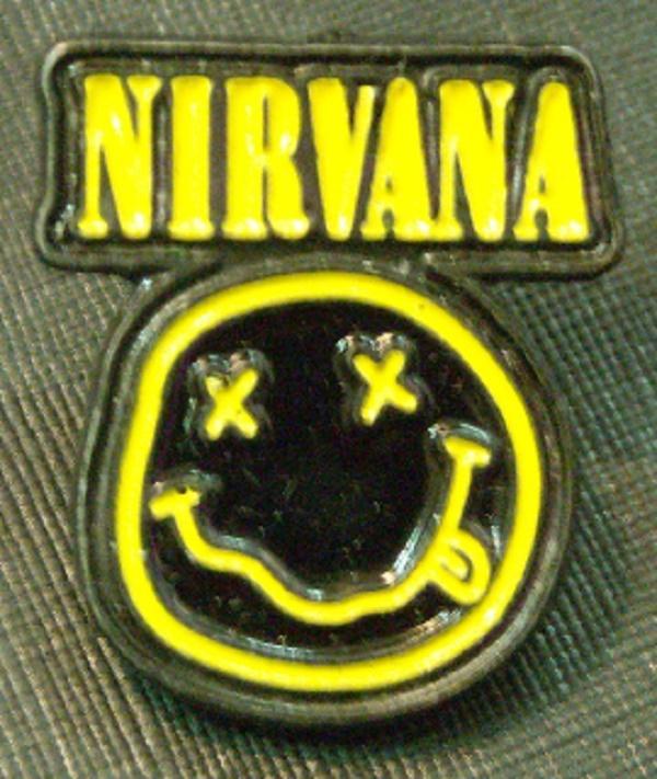 Pin Nirvana smile