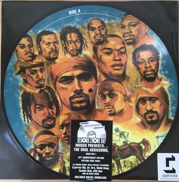 """Sony Music Picture disc Muggs Presents """"The Soul Assassins (Chapter 1)"""""""