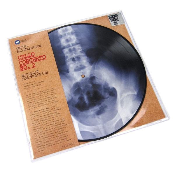 """Warner Music Picture disc Dmitri Shostakovich -  Mstislav Rostropovich """"Cello Concerto No. 2"""""""