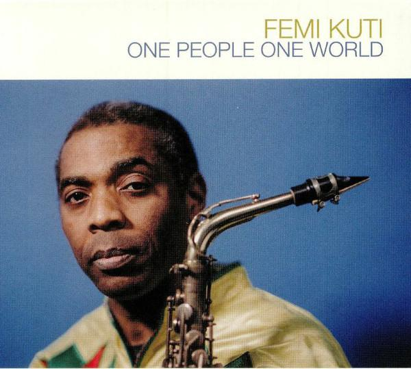 LP Femi Kuti ‎– One People One World 2LP