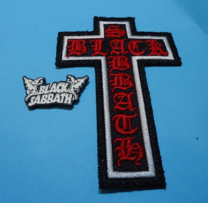 LOTE BLACK SABBATH Pin + Parche