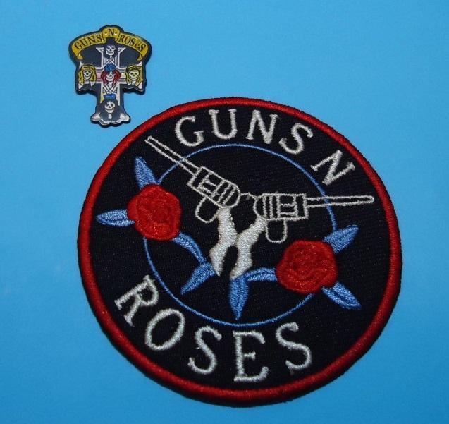 LOTE GUNS N' ROSES Pin + Parche