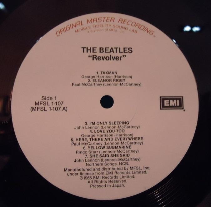 LP The Beatles – Revolver Mobile Fidelity Sound Lab Vinyl NM Cover VG+++