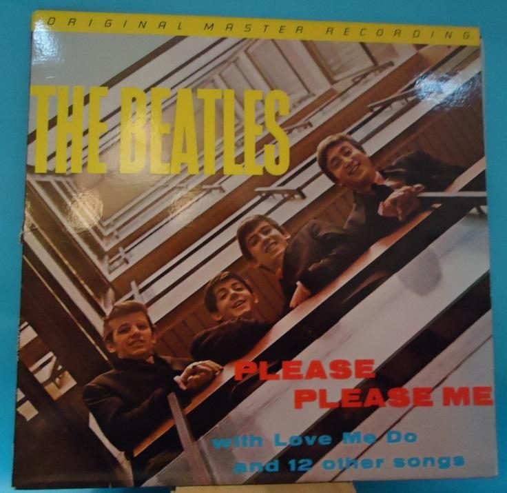 LP The Beatles – Please Please Me Mobile Fidelity Sound Lab Vinyl NM- Cover VG++