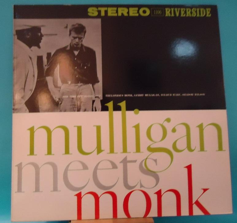 LP Thelonious Monk And Gerry Mulligan ‎– Mulligan Meets Monk Vinyl EXC+ Cover VG++