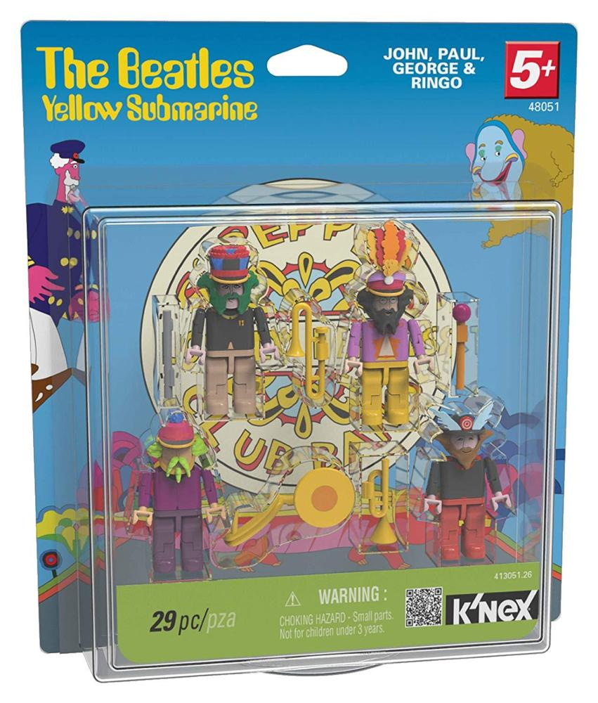 Figuras The Beatles Yellow Submarine K'NEX