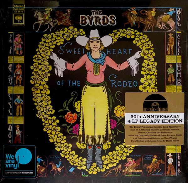 LP The Byrds ‎– Sweetheart Of The Rodeo 4LP