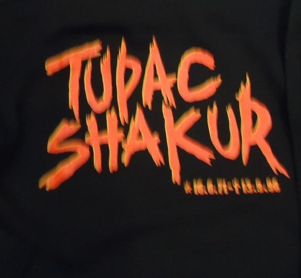 SUDADERA CON CAPUCHA TUPAC SHAKUR