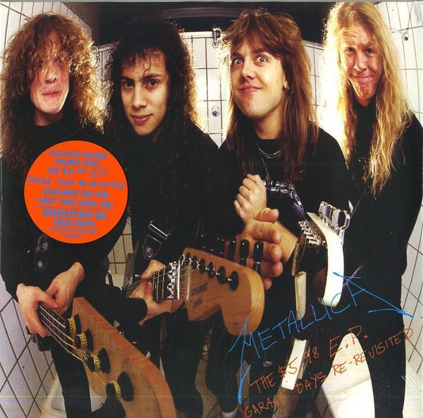 EP 12'' Metallica – The $5.98 E.P. - Garage Days Re-Revisited