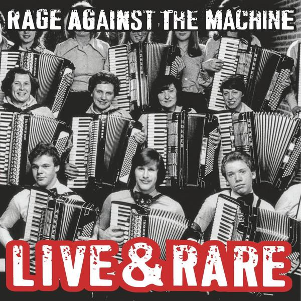 LP Rage Against The Machine – Live & Rare 2LP