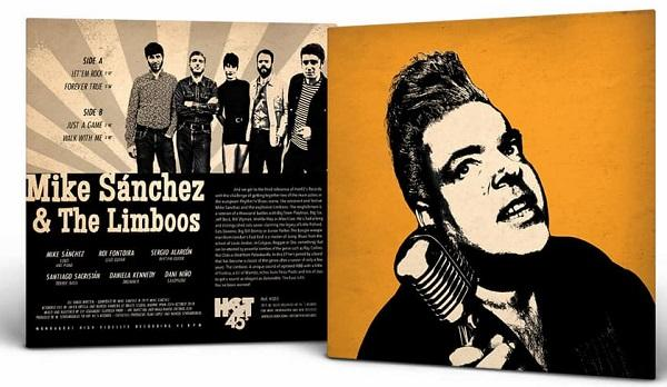 Hot 45 records EP Mike Sanchez & the Limboos Let'em rock + 3