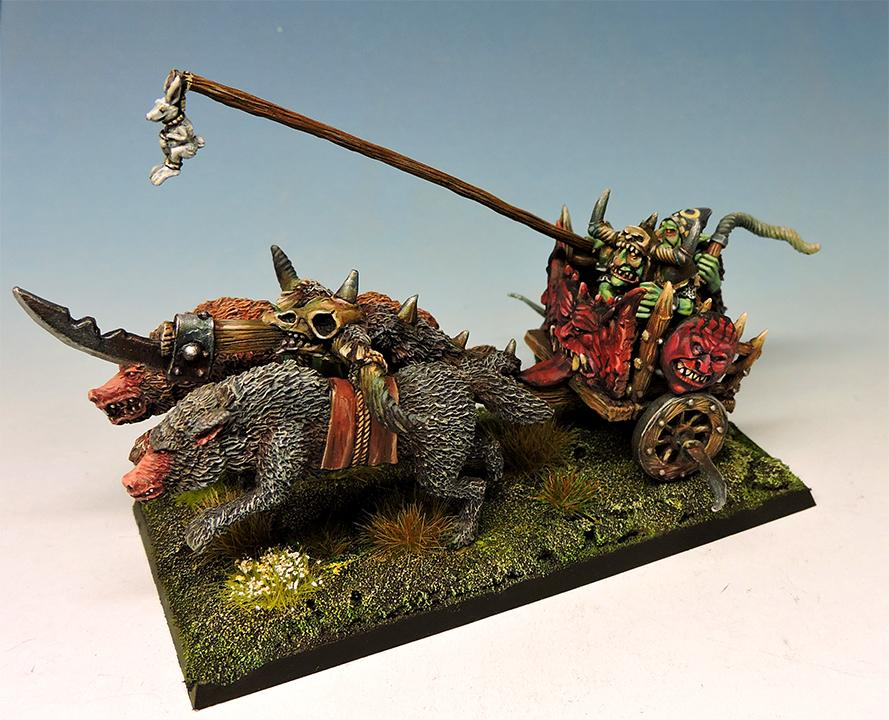 Hill Goblins Chariot