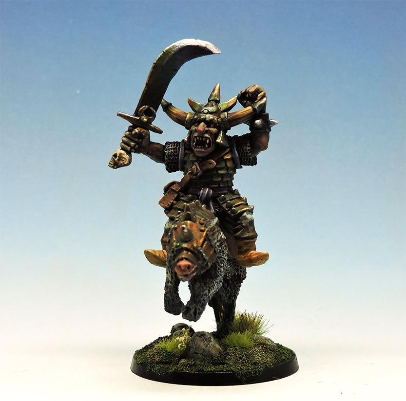 Hobgoblin Lord on Wolf