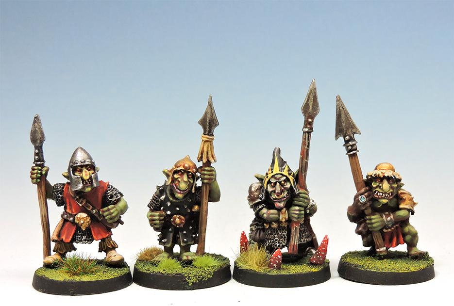 Black Goblins with Lance #2