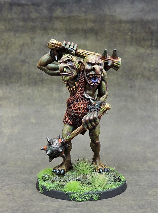Zhot n´ Mogg, two headed Troll