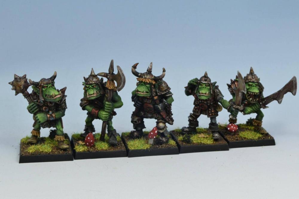 Orc warriors unit #1