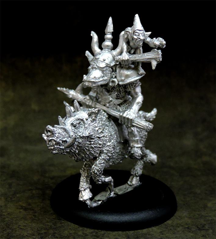 Orc boss boar rider
