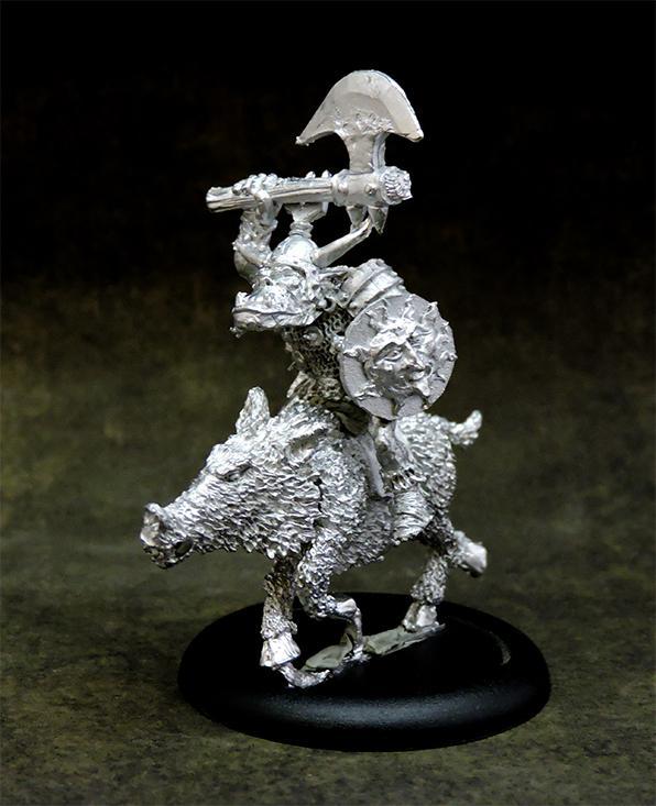Orc boar rider #1