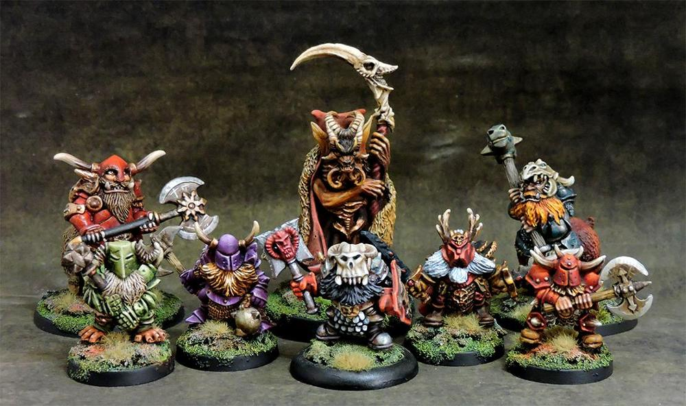 Chaos Dwarves Warband Deal