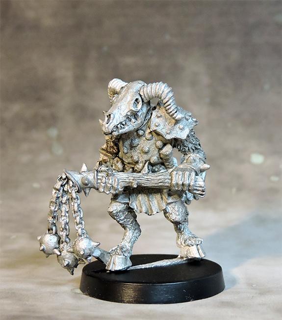 Skeletal Beastman