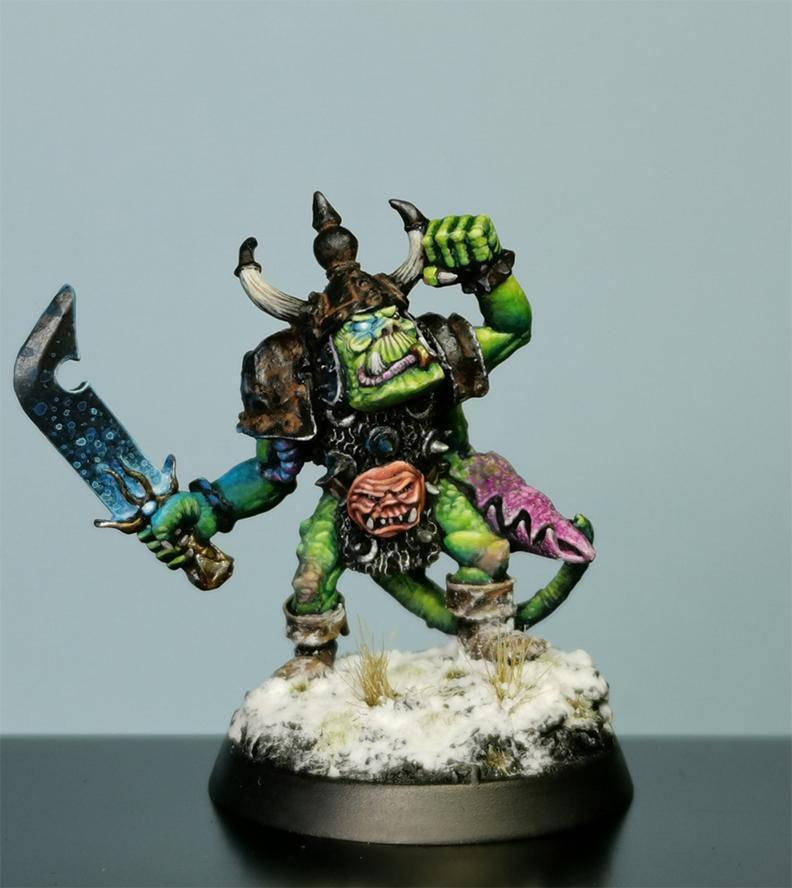Gorkus - Chaos Orc Champion
