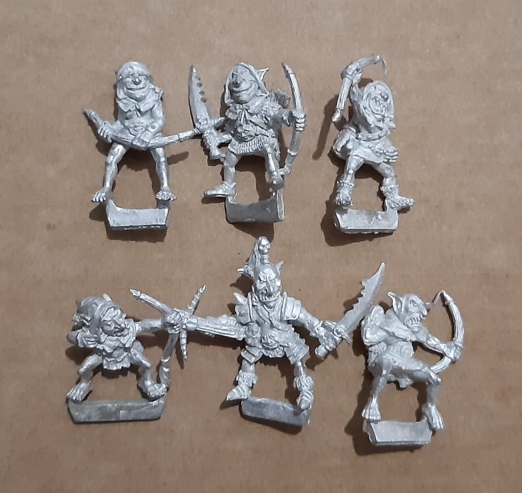 Goblins Scouts Regiment without Wolves