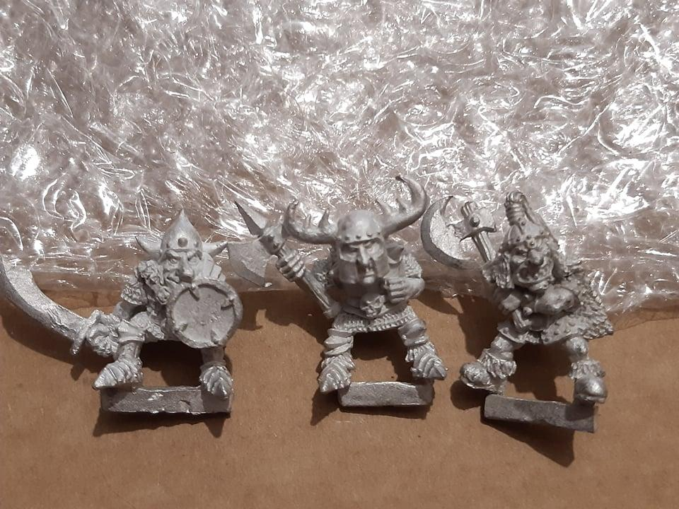 Black goblin wolf riders without Wolves