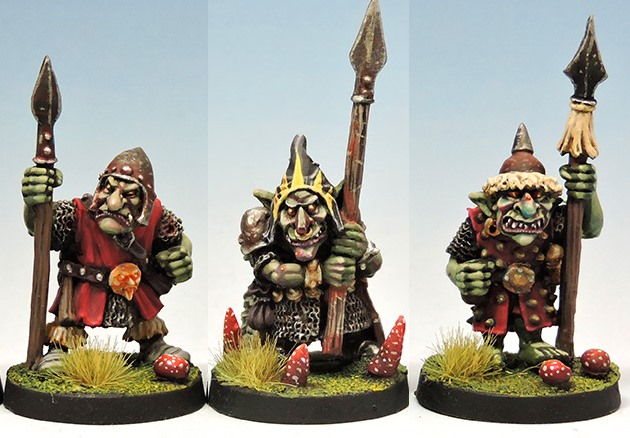 Black goblins with lance DEAL