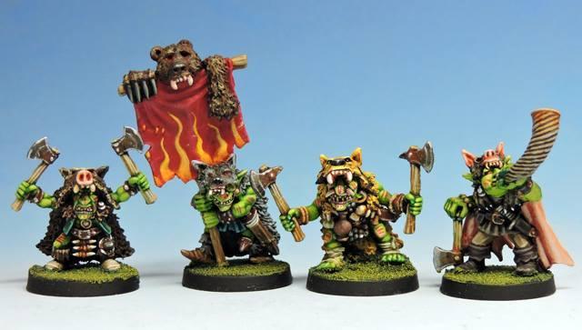 Grupo de mando-Goblins ferales