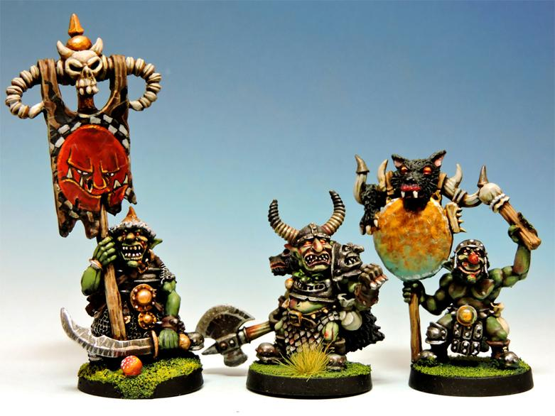 Black Goblin Command Group